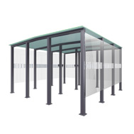Smoking Canopy Type 9 - 25-30 people